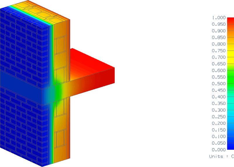 calcular un puente termico guia