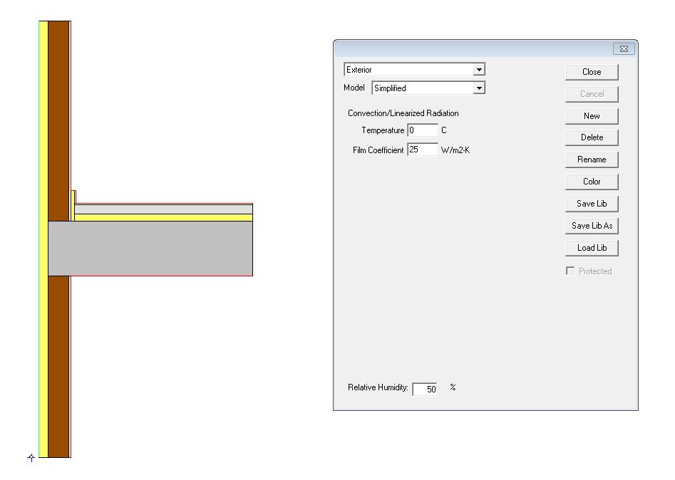 guia para calcular un puente térmico condiciones de contorno