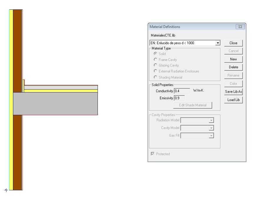 guia para calcular un puente térmico therm isotermas