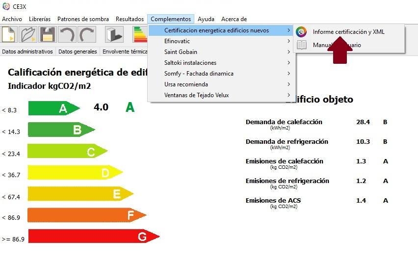 certificar edificios nuevos CE3X certificado eficiencia energética