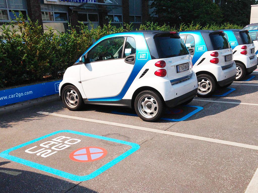 coche eléctrico compartido