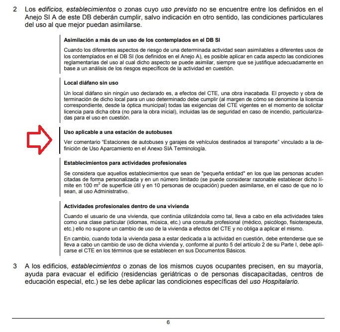 comentario 2 de agosto de 2019 del codigo tecnico de la edificacion