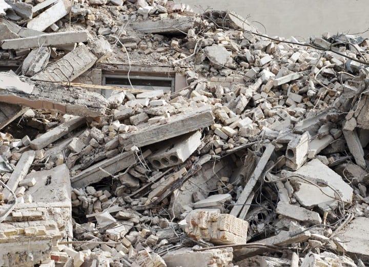 residuos construccion y demolicion obras edificios economia circular