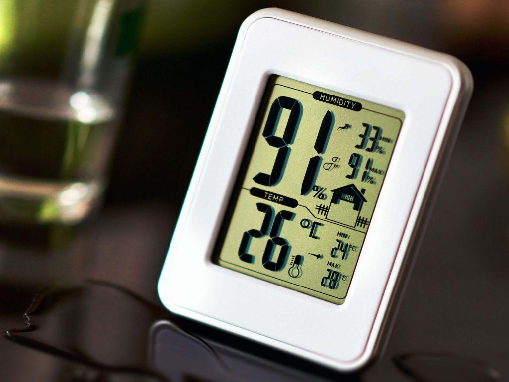 termohigrometro medicion condiciones climaticas