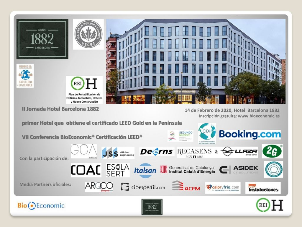 Bioeconomic VII Conferencia BioLEED LEED hoteles