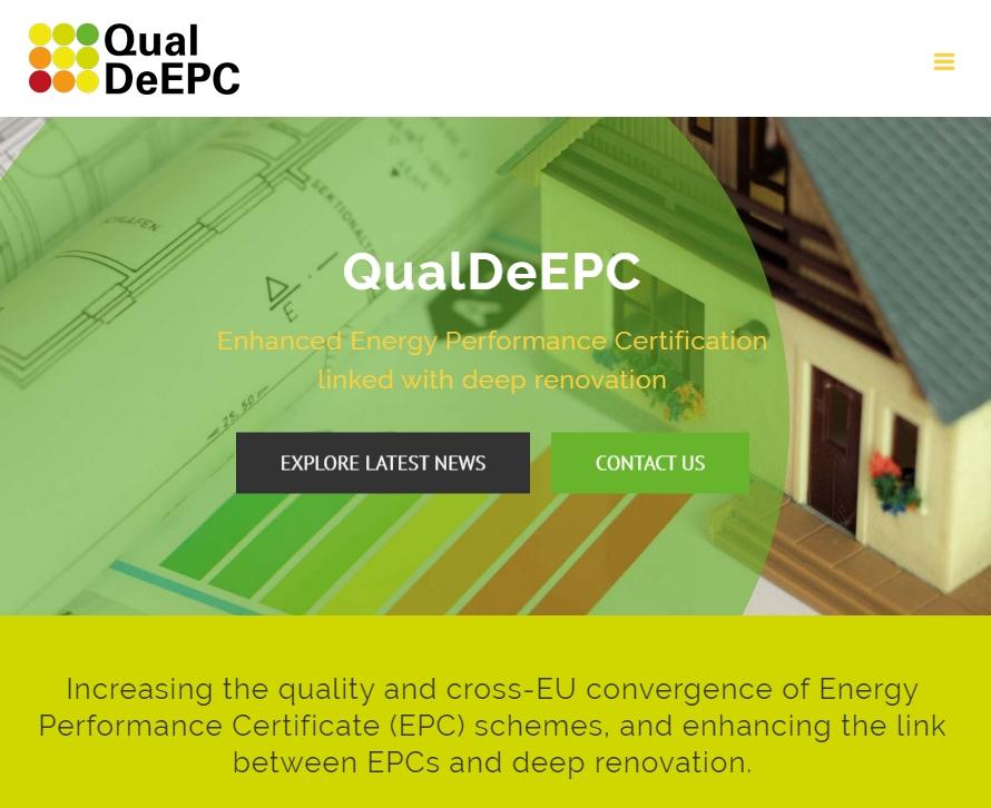 QualDeEPC certificados eficiencia energetica renovacion edificios