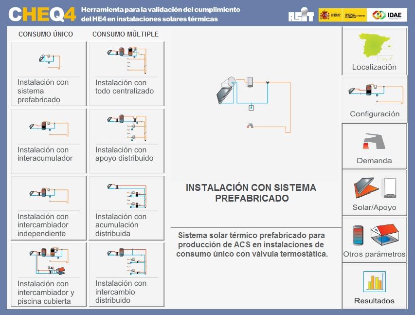 nueva versión de CHEQ4 configuracion
