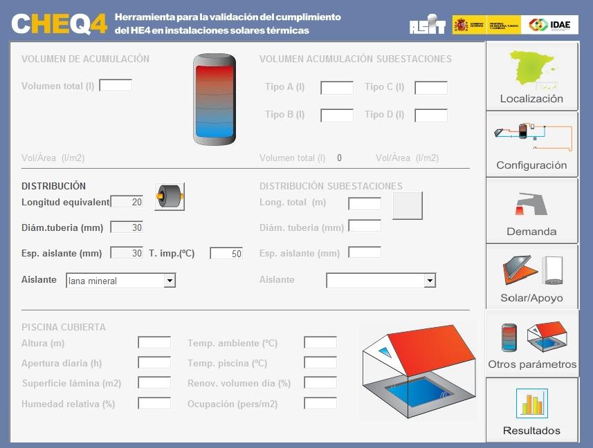 nueva versión de CHEQ4 otros parametros