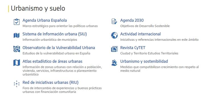 rehabilitacion de viviendas urbanismo y suelo