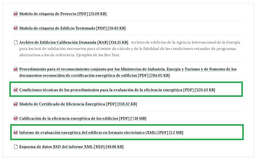 documentos reconocidos modificados web transicion ecologica