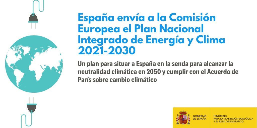 PNIEC plan de energia y clima 2021 2030