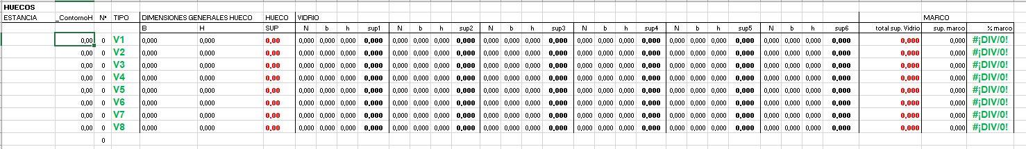 porcentaje de marco tabla de excel