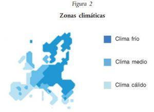 aerotermia zonificacion climatica europea
