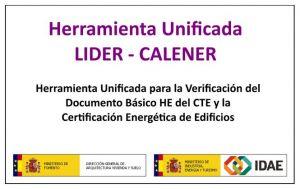 manual de usuario de HULC herramienta unificada Lider Calener