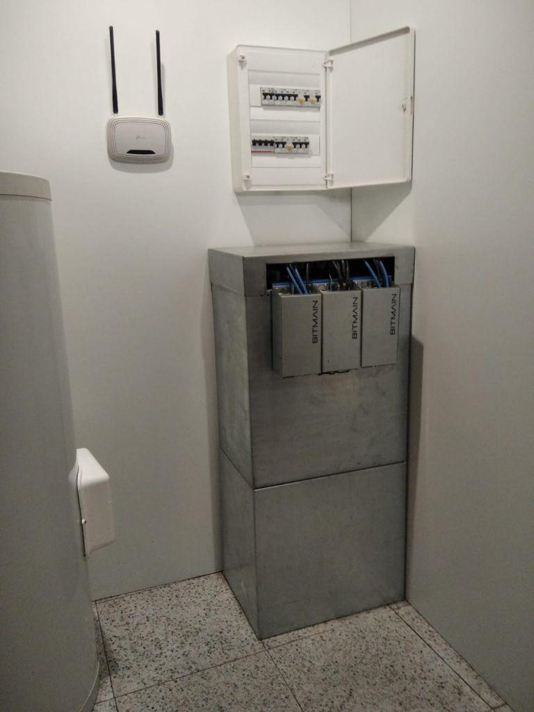 caldera computacional agua caliente