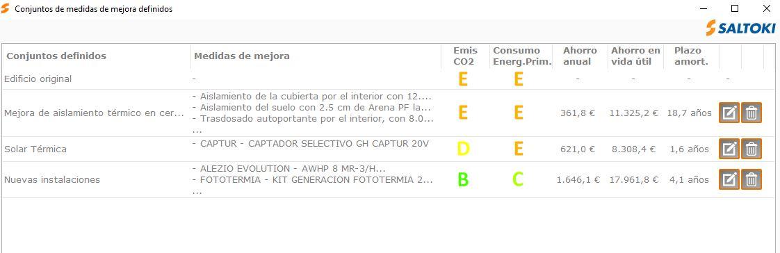 complemento de CE3X de instalaciones termicas conjuntos