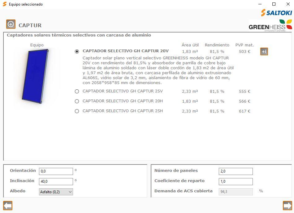 complemento de CE3X de instalaciones termicas paneles solares