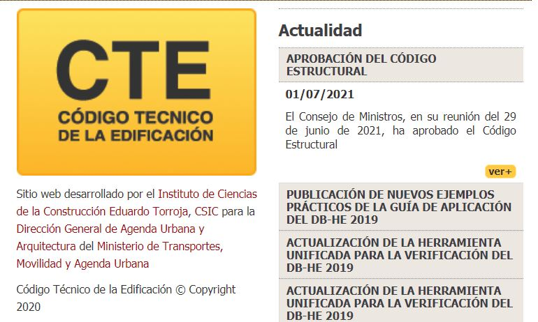 codigo estructural CTE