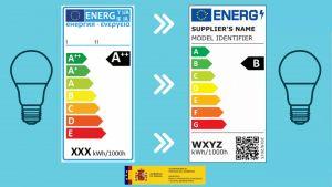 nuevo etiquetado energetico para iluminacion
